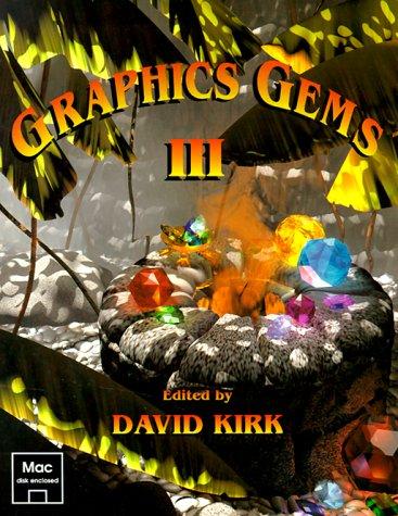 9780124096721: Graphics Gems 3 (Mac Disk)