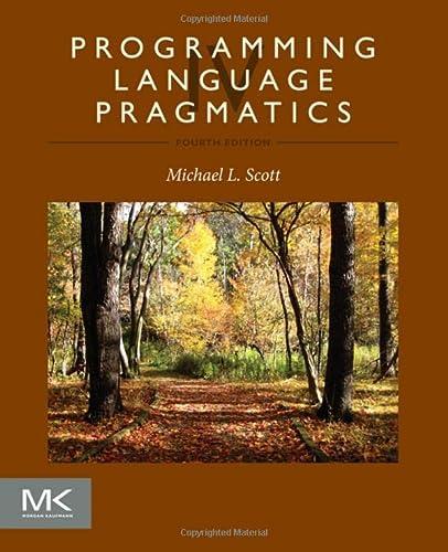 9780124104099: Programming Language Pragmatics