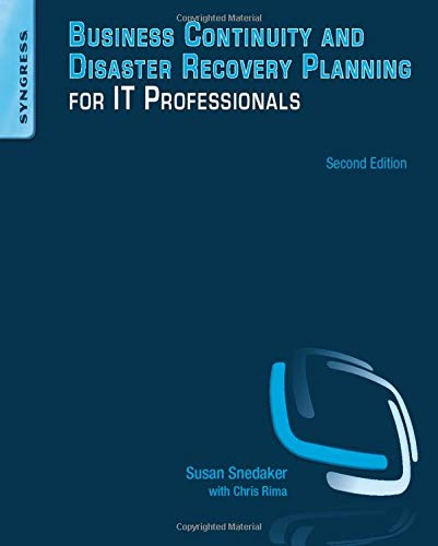 9780124105263: Business Continuity and Disaster Recovery Planning for IT Professionals