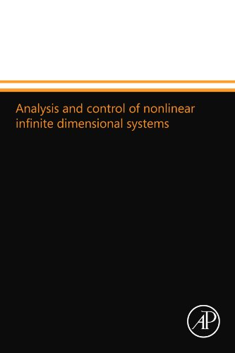 9780124109681: Analysis and control of nonlinear infinite dimensional systems