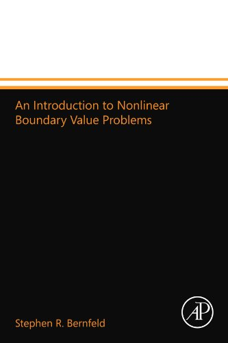 9780124109797: An Introduction to Nonlinear Boundary Value Problems
