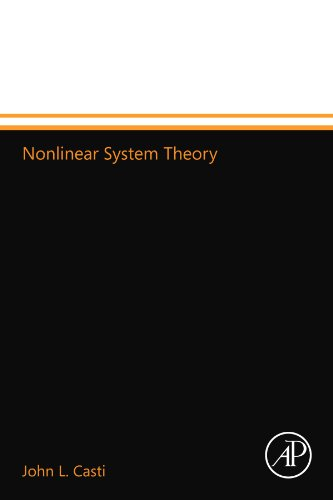 9780124109896: Nonlinear System Theory