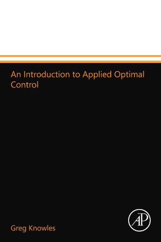 9780124110243: An Introduction to Applied Optimal Control
