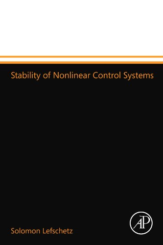 9780124110328: Stability of Nonlinear Control Systems