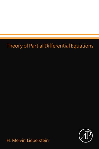 9780124110359: Theory of Partial Differential Equations