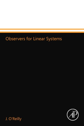 9780124110823: Observers for Linear Systems