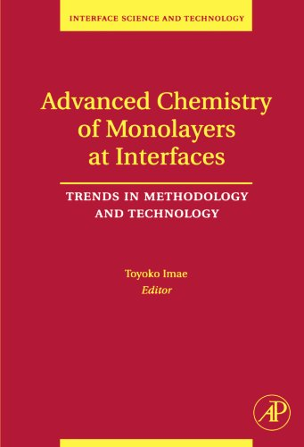 9780124111325: Advanced Chemistry of Monolayers at Interfaces: Trends in Methodology and Technology