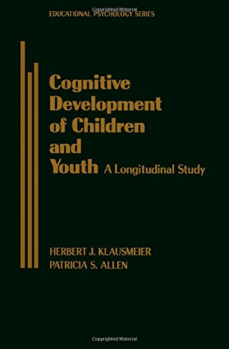 9780124113558: Cognitive Development of Children and Youth: A Longitudinal Study (Educational psychology)