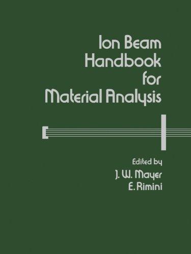 9780124119994: Ion Beam Handbook for Material Analysis