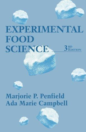 9780124120235: Experimental Food Science 3e