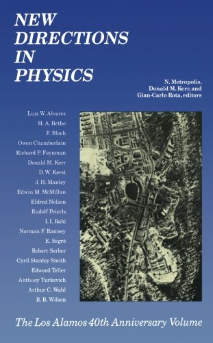 9780124122185: New Directions in Physics: The Los Alamos 40th Anniversary Volume