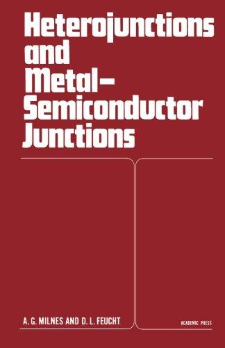 9780124122239: Heterojunctions and Metal Semiconductor Junctions