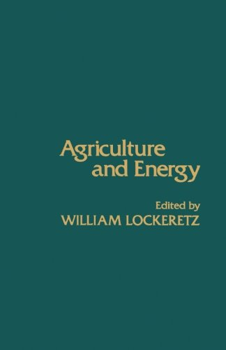 9780124123496: Agriculture and Energy