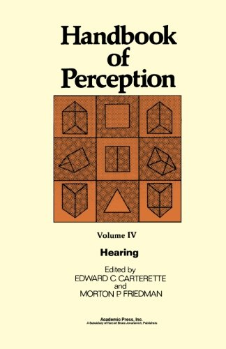 9780124123601: Handbook of Perception, Hearing, Volume IV