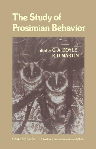9780124123915: The Study of Prosimian Behavior
