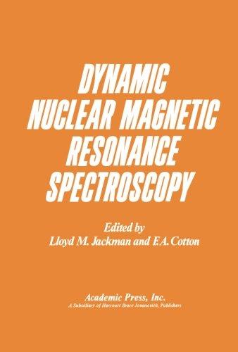 9780124124431: Dynamic Nuclear Magnetic Resonance Spectroscopy