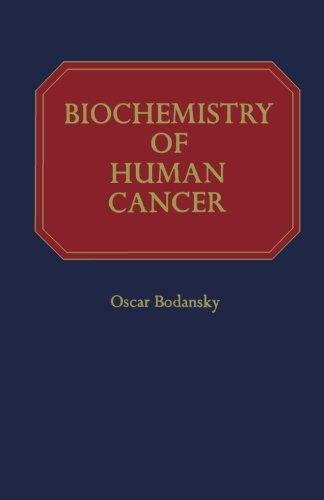 9780124124486: Biochemistry of Human Cancer