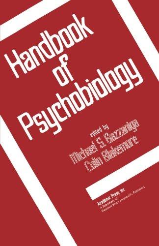9780124124714: Handbook of Psychobiology