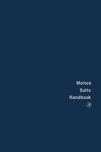 9780124141681: Molten Salts Handbook