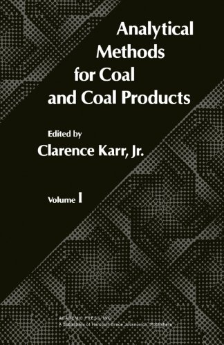 9780124141742: Analytical Methods for Coal and Coal Products