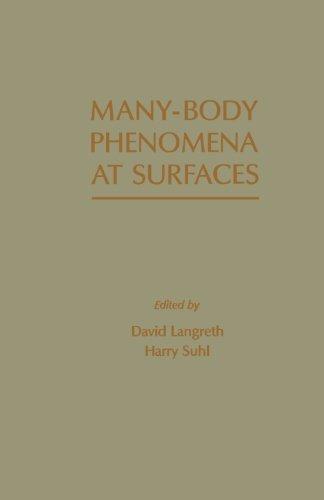 Many-Body Phenomena at Surfaces