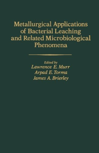 9780124143333: Metallurgical Applications of Bacterial Leaching and Related Microbiological Phenomena