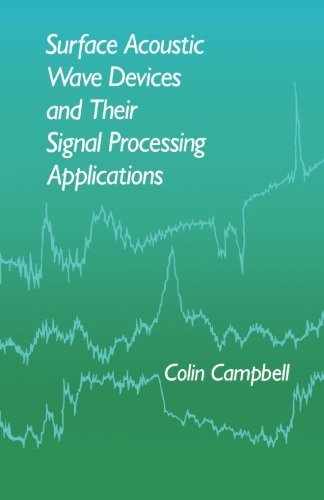 9780124145474: Surface Acoustic Wave Devices and Their Signal Processing Applications