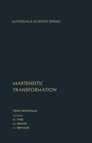 9780124145627: Martensitic Transformation