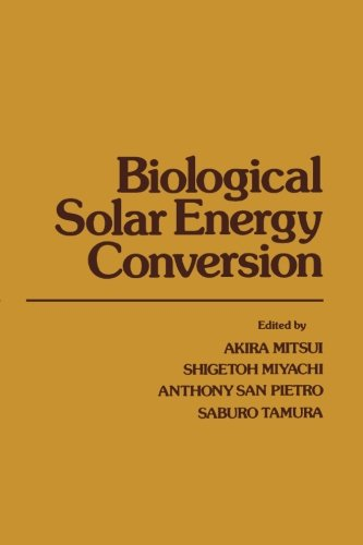 9780124146068: Biological Solar Energy Conversion