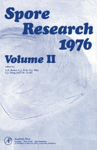 9780124146075: Spore Research 1976 Volume II