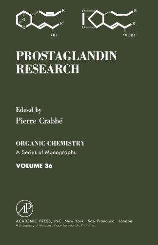 9780124146327: Prostaglandin Research, Volume 36: Organic Chemistry A Series of Monographs