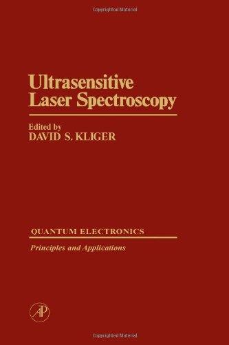 9780124149809: Ultrasensitive Laser Spectroscopy (Optics & Photonics Series)