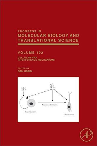9780124157958: Cellular RNA Interference Mechanisms, Volume 102 (Progress in Molecular Biology and Translational Science)