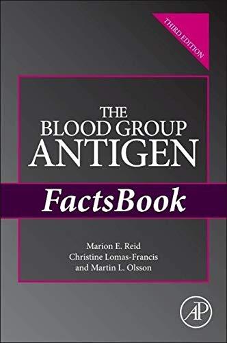 9780124158498: The Blood Group Antigen FactsBook, Third Edition