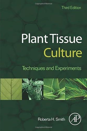 9780124159204: Plant Tissue Culture: Techniques and Experiments