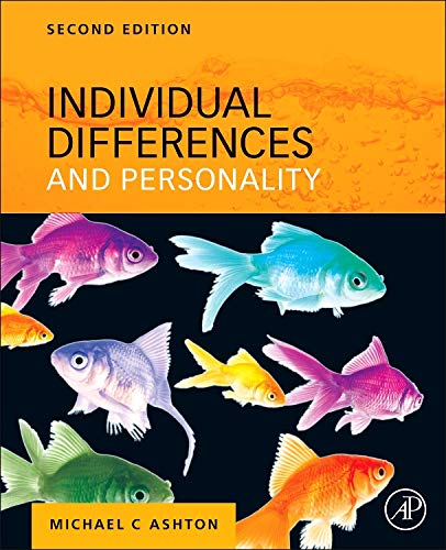 9780124160095: Individual Differences and Personality, Second Edition