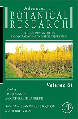 9780124160231: Lignins, Volume 61: Biosynthesis, Biodegradation and Bioengineering (Advances in Botanical Research)
