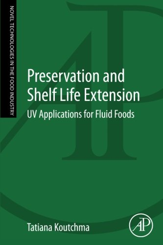 9780124166219: Preservation and Shelf Life Extension: UV Applications for Fluid Foods