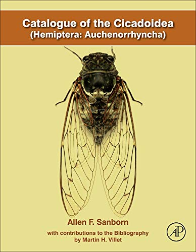 9780124166479: Catalogue of the Cicadoidea (Hemiptera: Auchenorrhyncha)