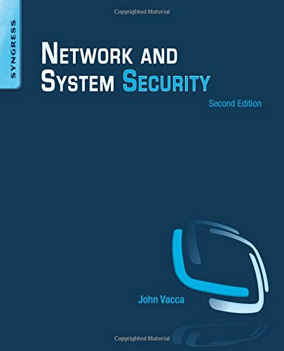 9780124166899: Network and System Security, Second Edition