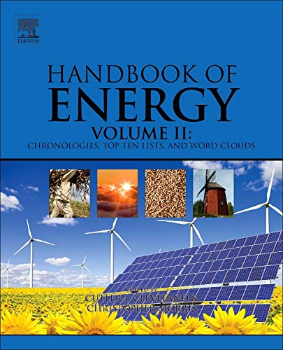 9780124170131: Handbook of Energy: Chronologies, Top Ten Lists, and Word Clouds