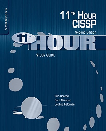 9780124171428: Eleventh Hour Cissp: Study Guide