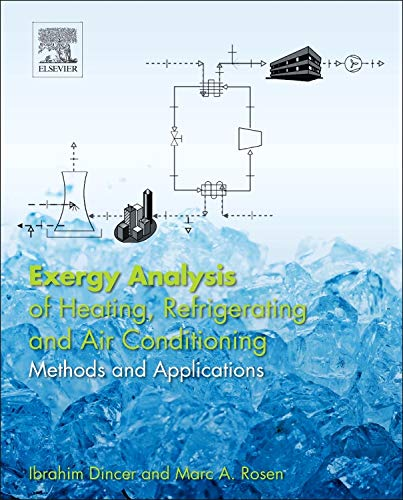 9780124172036: Exergy Analysis of Heating, Refrigerating and Air Conditioning: Methods and Applications
