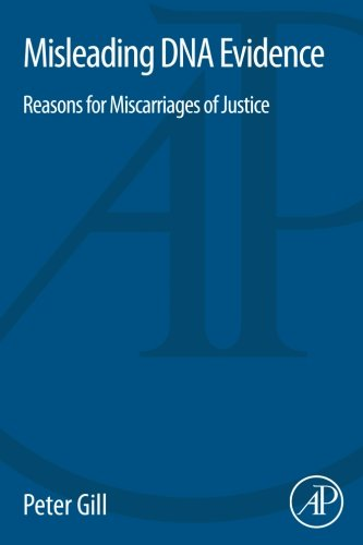 9780124172142: Misleading DNA Evidence: Reasons for Miscarriages of Justice