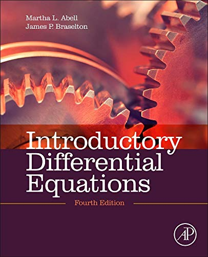 9780124172197: Introductory Differential Equations, Fourth Edition