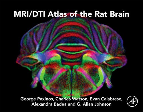 9780124173132: MRI/DTI Atlas of the Rat Brain