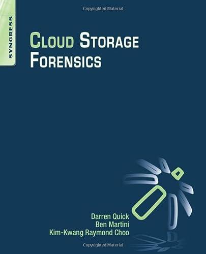 9780124199705: Cloud Storage Forensics
