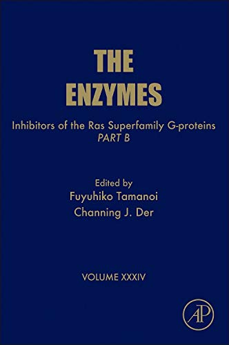9780124201460: Inhibitors of the Ras Superfamily G-proteins, Part B, Volume 34 (Enzymes)