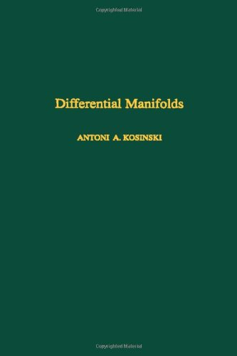 9780124218505: Differential Manifolds (Pure and Applied Mathematics)