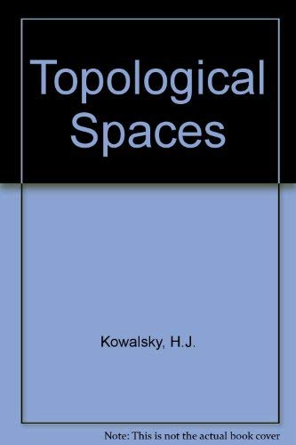 9780124231504: Topological Spaces